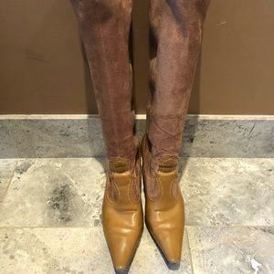 Women's tan boots